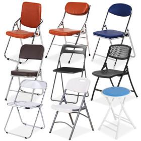 접이식 의자 야외 폴딩 캠핑 행사 플라스틱 원형 스툴