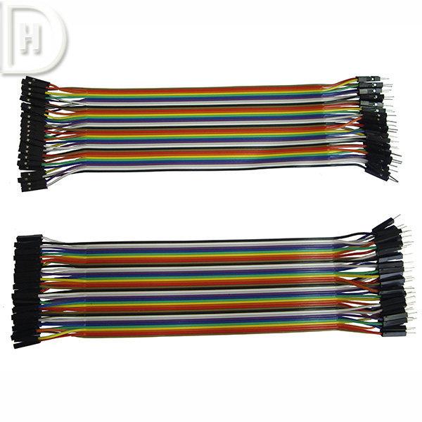 40P Dupont Wire M-M or M-F or F-F 2.54 2.54MM 상품이미지