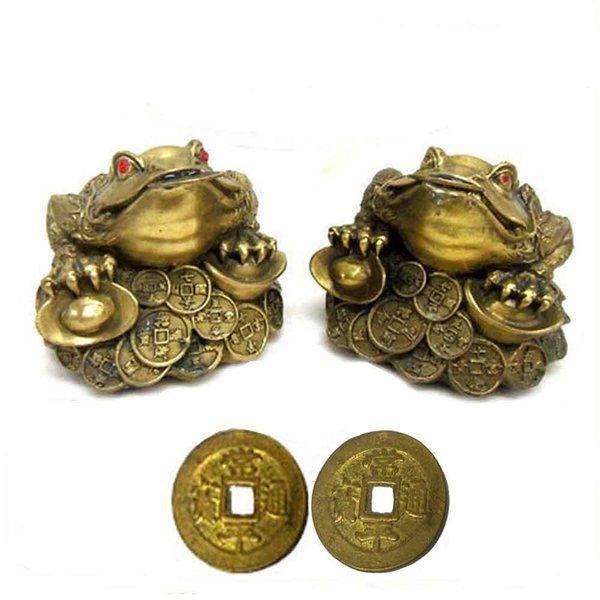 돈방석 삼족두꺼비 한쌍 복두꺼비 개업선물 풍수지리 상품이미지