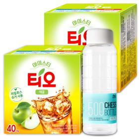 티오 아이스티 애플 40T+40T /에이드/아이스음료