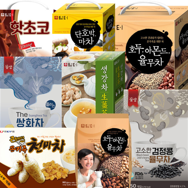 KY식품/꽃샘/담터/호박/콘플레이크 천마차/율무차 상품이미지