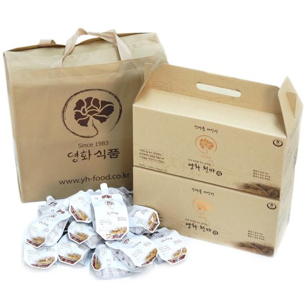 영화식품 천마즙 100ml 30팩 2박스 (국산 무주 천마) 상품이미지