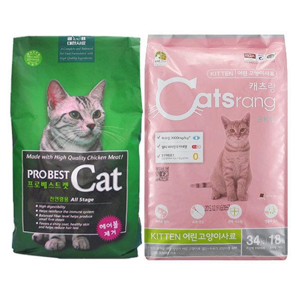 사조캔증정/고양이사료 모음전 프로베스트캣 캣츠랑 상품이미지