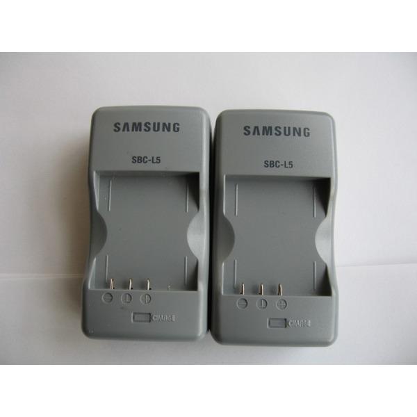 정품중고  삼성정품 배터리 충전기/SBC-L5 (SLB-0737. SLB-0837 배터리용) 4.2V 0.41A/전원선 포함 상품이미지