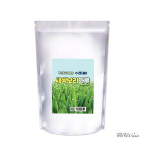 국산100% 수경재배 뿌리까지 새싹보리가루 1kg 환