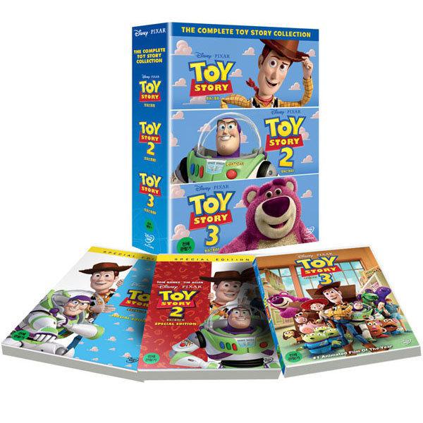 DVD 토이스토리 트릴로지 박스세트 3Discs (토이스토리 1~3탄) - 한국어 더빙 수록 상품이미지
