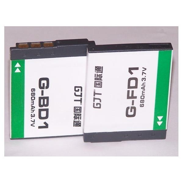초특가 재고처리  소니디카용 호환배터리/For SONY NP-BD1 NP-FD1 (3.7V 680mAh) 벌크제품/인포리튬 D용 상품이미지