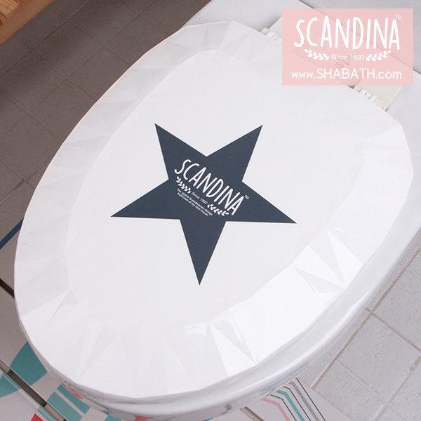 스칸디나 하드형 변기카바 O형 대형 스타 / 샤바스 상품이미지