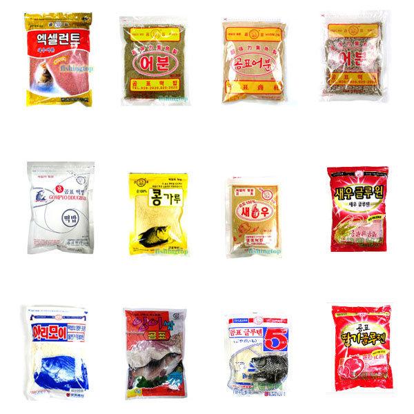곰표떡밥 새우가루 잉어밥 어분 민물떡밥 글루텐5 상품이미지