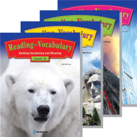 Reading for Vocabulary A.B.C.D Level 선택