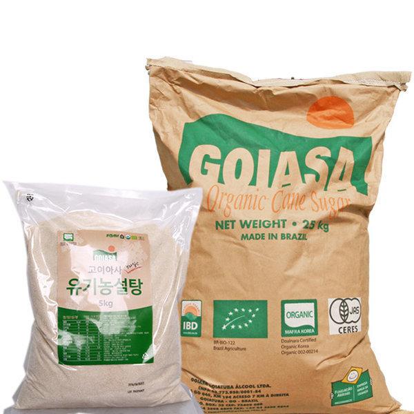 고이아사 유기농 설탕 20kg 상품이미지