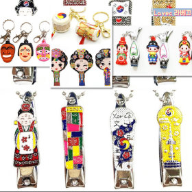 Korean Traditional Folk nail clipper 10pcs/foreign student gift