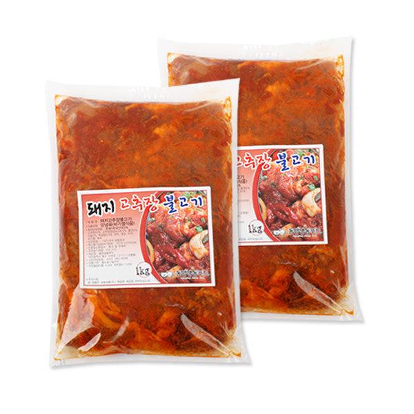 불고기2kg/돼지불고기 LA양념갈비 찜갈비 닭갈비 패티 상품이미지