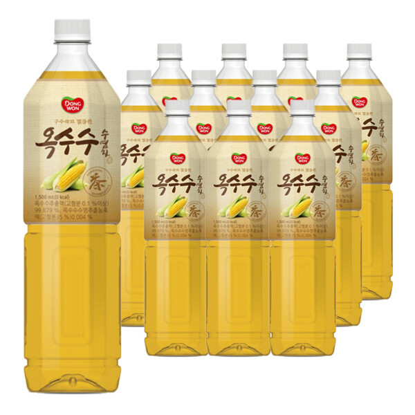 (현대Hmall) 동원 옥수수수염차 1.5L X 12병 /음료/음료수/차 상품이미지