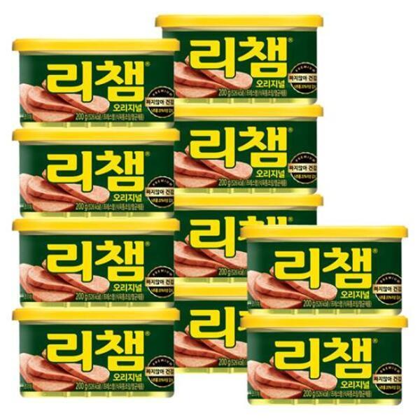(현대Hmall) 동원 리챔 200g x 10캔 /햄/통조림 상품이미지