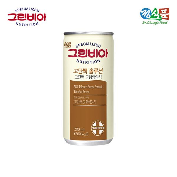 (현대Hmall) 정식품 그린비아 고단백솔루션 200ml 30캔(구 하이프로틴) 상품이미지