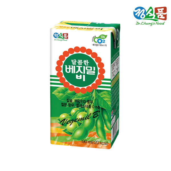 (현대Hmall) 정식품  베지밀 달콤한B 190ml 48 상품이미지