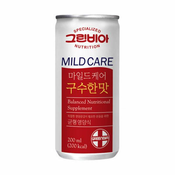 (현대Hmall) 정식품  그린비아 마일드케어(GREENBIA MC) 200ml 30캔 상품이미지