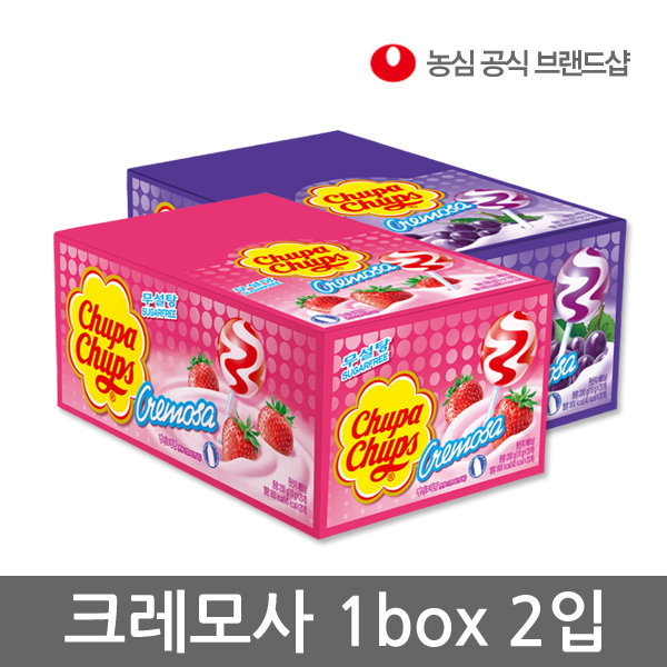 판매종료/농심직영몰/츄파춥스 크레모사 혼합 상품이미지