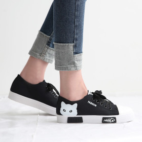 [Dangolunni] Women`s slip-on collection / faux leather / mesh / elevator shoes / pattern /