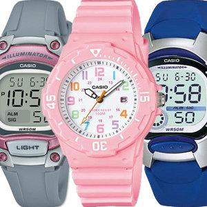 [카시오]카시오정품 어린이 아동 초등학생 방수전자손목시계