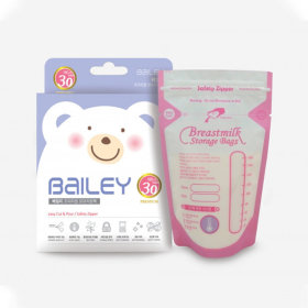 BaILEY Premium Breastmilk Storage Bag 180ml 30 sheets