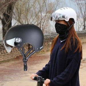 [사가라이더]SR 스컬 어반 고글헬멧 전동킥보드헬멧 전기 자전거
