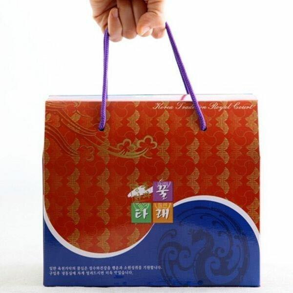 (현대Hmall) 궁중다과 꿀타래  Hmall구성  톡톡센스 선물세트(5곽)  땅콩2 백년초1 초콜릿2 5곽(1곽10개입) 상품이미지