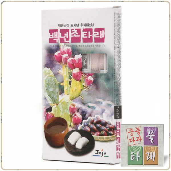 (현대Hmall)궁중다과 꿀타래 正品세종푸드 백년초 1곽(1곽10개입) 상품이미지