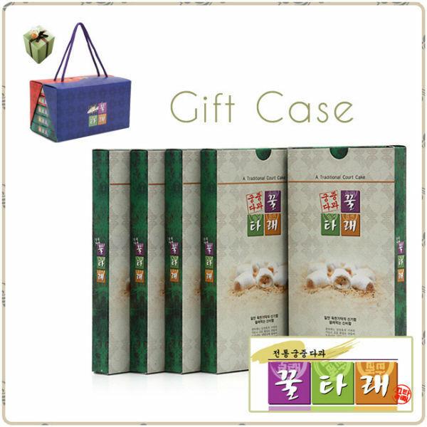 (현대Hmall) 궁중다과 꿀타래  센스 선물세트(5곽) 正品세종푸드 땅콩 흑임자 5곽(1곽10개입) 상품이미지
