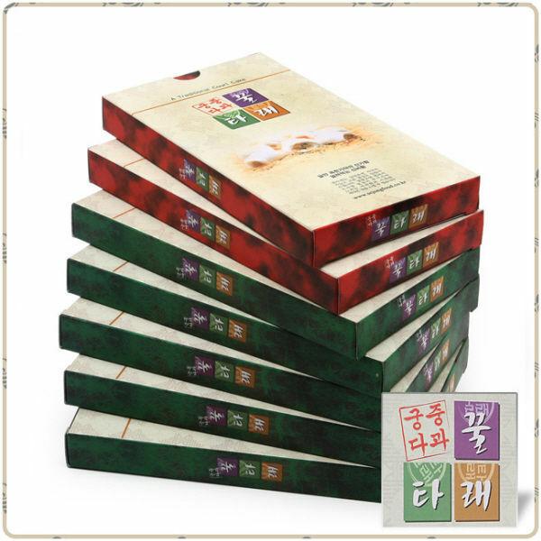 (현대Hmall)궁중다과 꿀타래 正品세종푸드 NEW 다곽  땅콩 흑임자5 아몬드 흑임자2 7곽(1곽10개입) 상품이미지