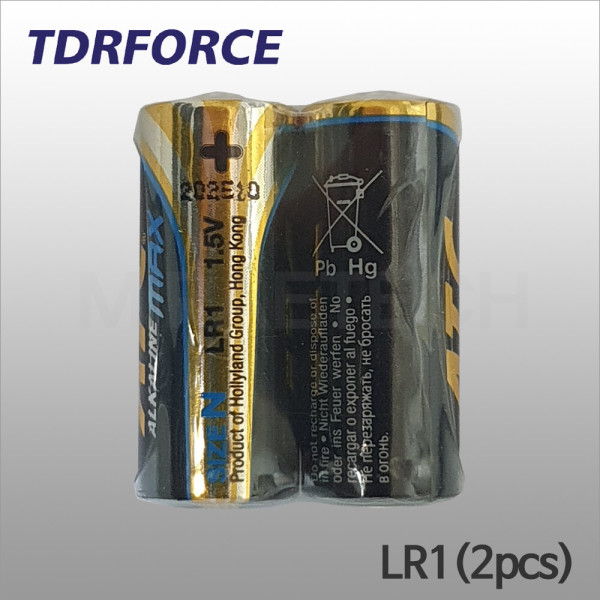 ATC LR-1 알카전지 X 2개 Size N 1.5V 배터리 상품이미지