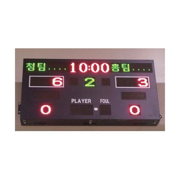 벽부착식 전자점수판/다목적 전자스코어보드 OSB-1608 상품이미지