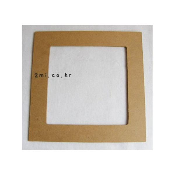 사각 나무 리스틀 - 중 외경 26 cm 내경 약 20.8cm 상품이미지