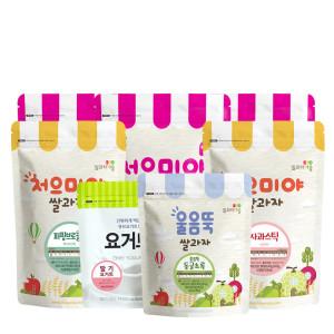 [쌀과자마을]쌀과자마을 처으미야 아기과자10+3(엄마과자 포함)