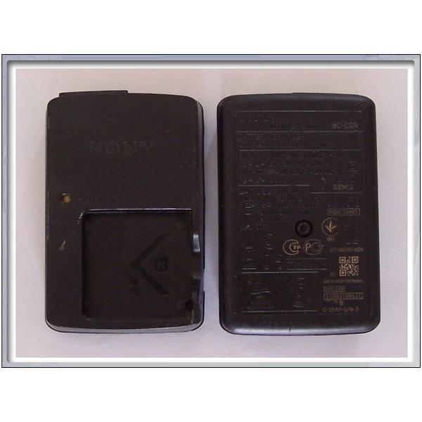 정품중고  소니전용 배터리 충전기/SONY BC-CSN (NP-BN 및 NP-BN1 배터리용) 4.2V 0.25A/전원선포함 (착불 상품이미지