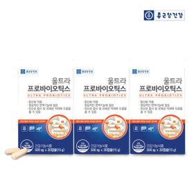 울트라 프로바이오틱스 유산균 30캡슐 3박스 3개월분