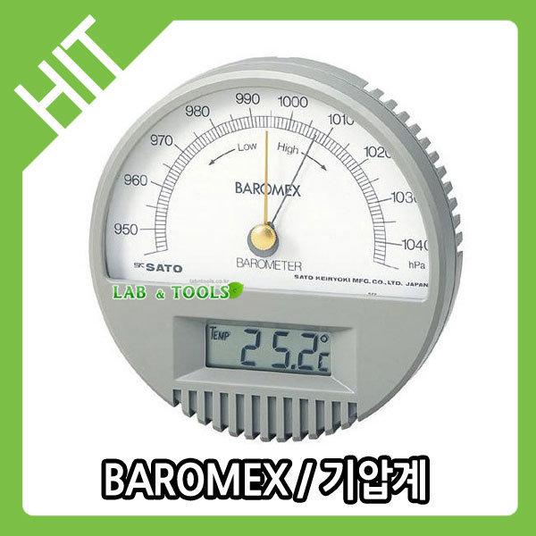 기압계/BAROMEX/7612-00/SATO/사토 랩앤툴스 상품이미지