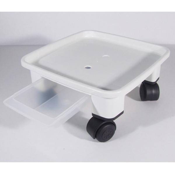 화분받침대 이동식 바퀴정사각받침대(흰색)(검정)화분 상품이미지