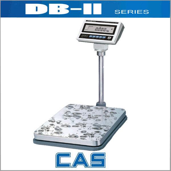 카스  DB-II 방수형저울/전자저울/고중량저울/수산용/학교급식소/수산시장/양식장/주방/계수/방수저울 상품이미지