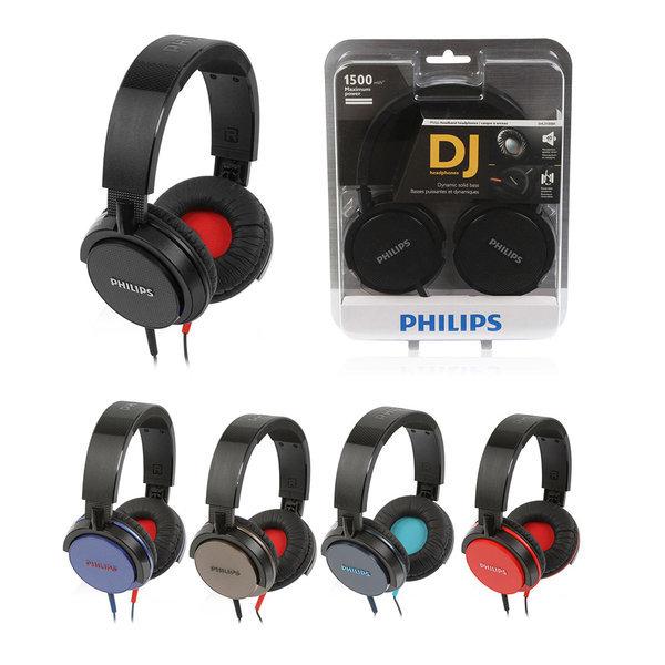 필립스 SHL3100/헤드폰/DJ스타일/풍부한중저음 상품이미지
