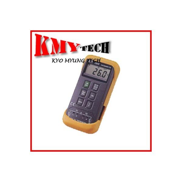온도계/디지털온도계/TES-1303/TES/교명테크/온도/표면/액체/대기/측정/접촉식온도계/침투형/휴대용/2채널 상품이미지