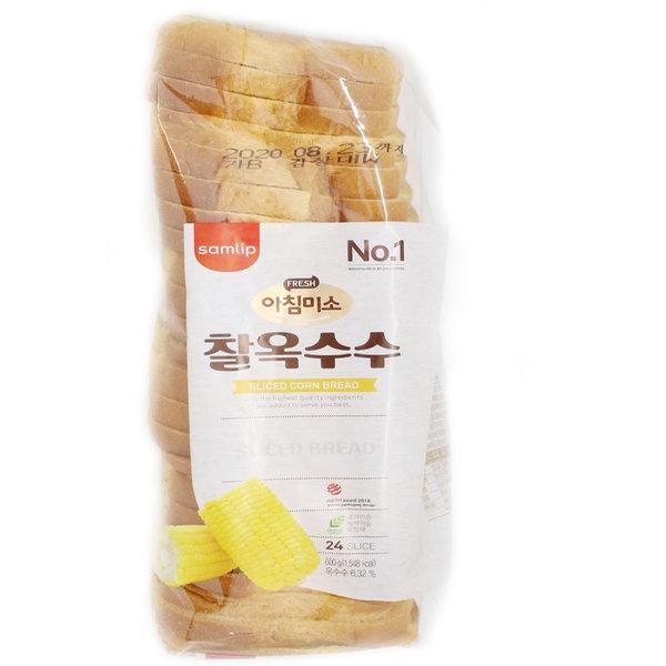 담백미 찰옥수수 대식빵 5봉/삼립/빵 상품이미지
