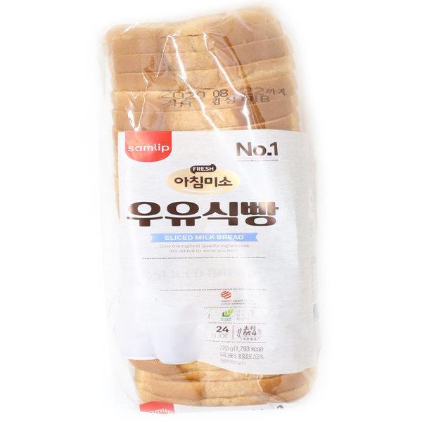 아침미소 우유 대식빵 5봉지/삼립/빵 상품이미지