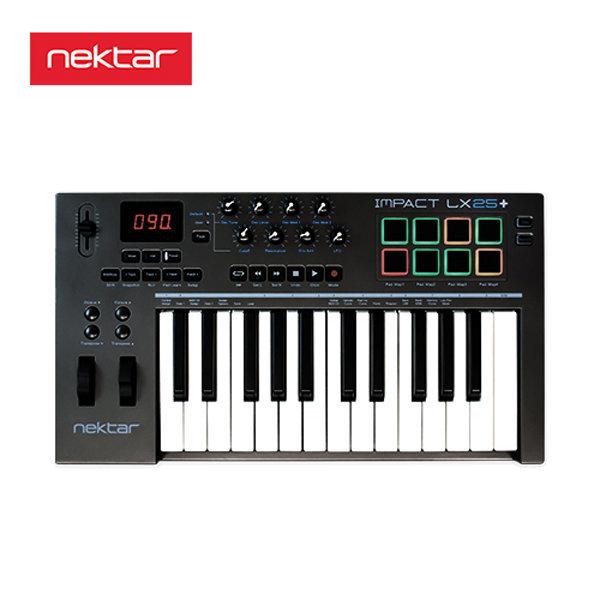 Nektar IMPACT LX25+ 넥타 임팩트 LX25+ 마스터키보드 상품이미지
