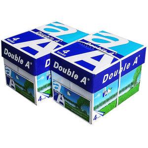 [더블에이]직배송 더블에이 A4용지 복사용지 80g 4000매(2박스)