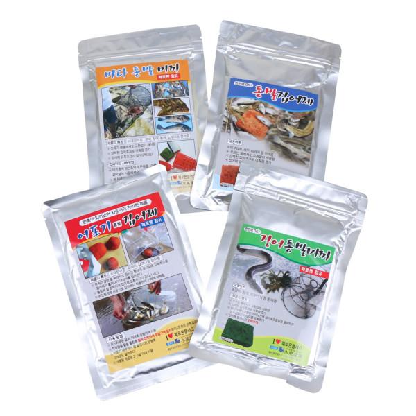 통발용 미끼 민물떡밥/장어미끼/통발 집어제/통발어분 상품이미지