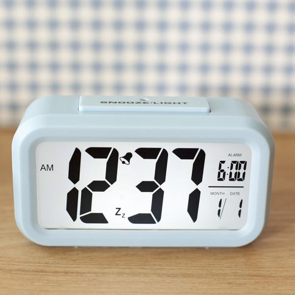 탁상 알람 시계 디지털 아날로그 전자 무소음 상품이미지