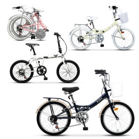 2018 year 20inch folding bicycle 7 kinds special price/family month gift