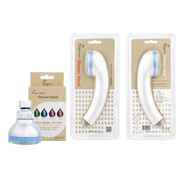 아이거 절수형샤워기 LED타입형 일반형 선택 부길 상품이미지